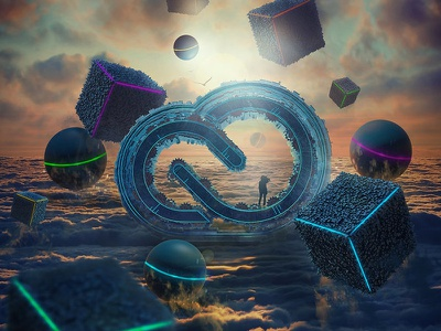 """New Horizon - Adobe Creative Cloud Artwork adobe creative cloud mixed c4d 3d art hotamr amr elshamy photoshop behance"
