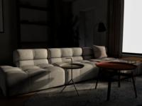 residential house - Living room design