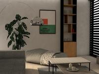 residential house - Living room design 2