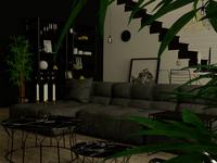 Interiorvisual 'darkside style'