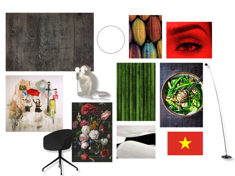 Moods - Vietnamese Restaurant interiordesign design interior happiness urban design urban modern art modern bamboo style asian food asian vietnam art book art concept illustration visualisations create