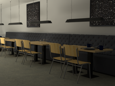 Canteen Visualisation! concept art rendering drawings visuals interiordesign design interior illustration cinema4d architechture render visualisations create