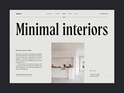 Pageload image idea type serif renovation interior principle animation interaction pageload design ux ui