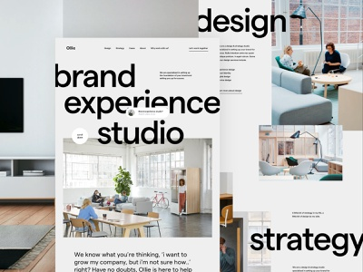 Creative studio homepage strategy landing home agency landing page agency website cases portfolio studio agency design ux ui