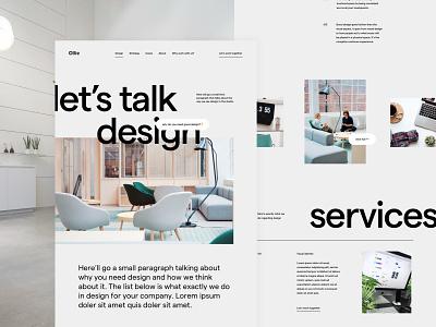 Service page creative studio portfolio studio agency web page landing services service design ux ui