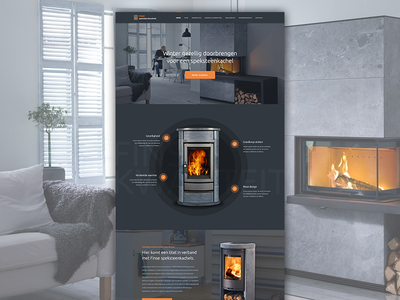 Fireplace Landingpage