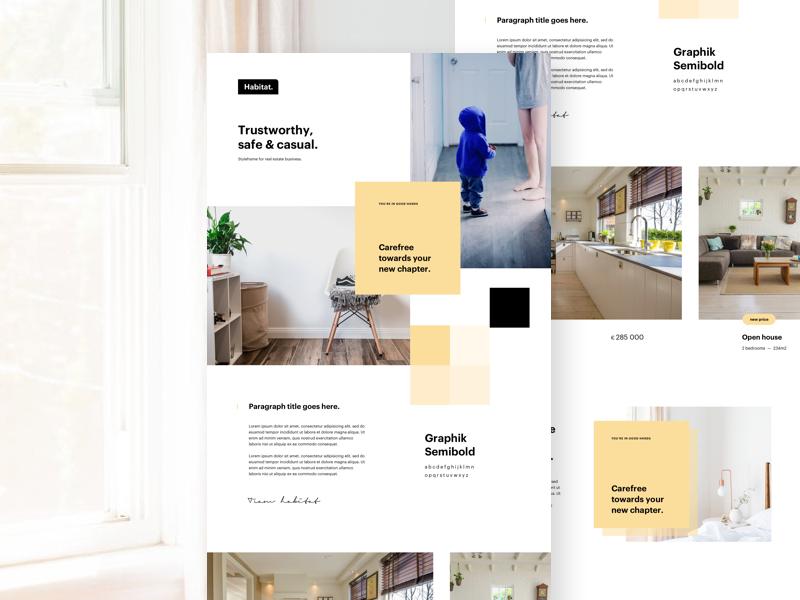 Styleframe moadboard styleframe strategy exploration branding design web ui