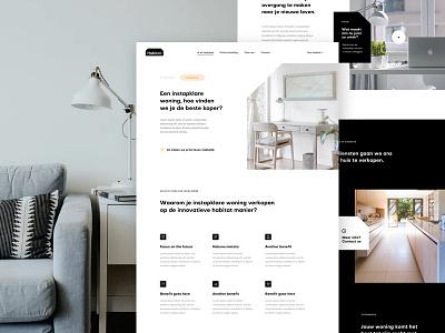 Habitat Sales Page benefits features sales page landing design ux ui