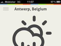 Weather app full