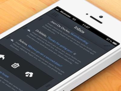 Dark Mail App