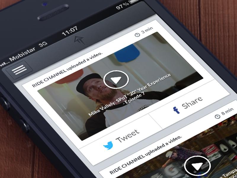 Skatematic V2 app ui design skateboarding noise share
