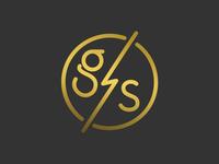 Gold Struck Branding Icon
