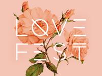 LoveFest Event Flyer