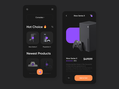 Mobile Gaming Store Concept shopping shop mobile app design mobile design mobile app mobile ui mobile gaming app gaming game app design project flat app ux ui minimal design concept design concept art