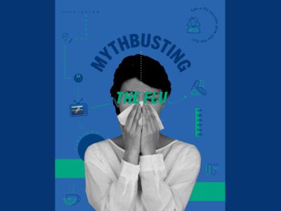 Flu Shot Social Campaign - Myth busting the Flu