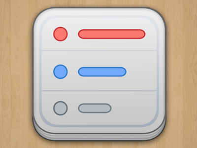 Dribbble Listacular Icon app icon list todo