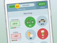 Spend less iPhone app