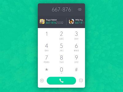 Phone Dial material ui phone dial