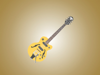 The Epiphone Wildkat
