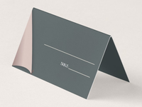 Pup Tent Placecard