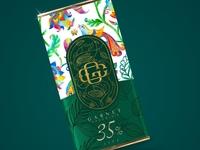 garnet chocolate packaging design