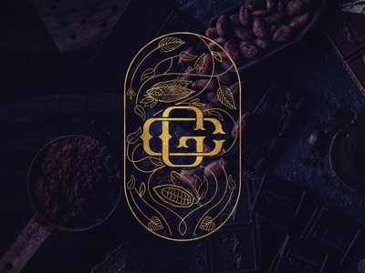 garnet chocolate logo design