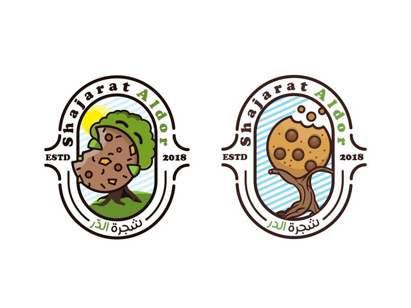 shajart aldor arabic logo design monogram logo icon character vector lettermark emblem logo logo typography persian illustration branding