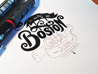 Boston Sketch