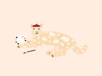 Jaguar painter
