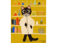 A cat scientist