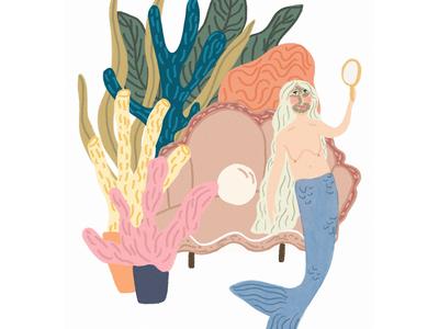 Mermaid magic.