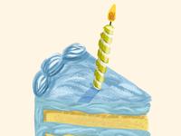 Cake with Bardot brushes