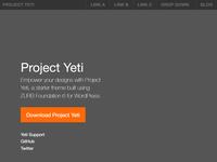 Zurb Foundation 6 Starter Kit For Wordpress