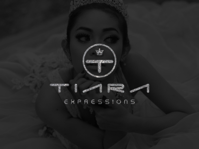 Logo design for Tiara expressions.