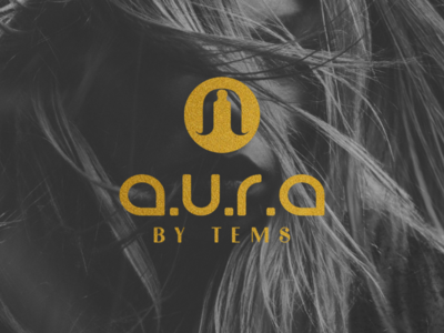 Logo design for Aura by Tems.