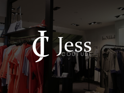 Brand identity design for Jess Couture.