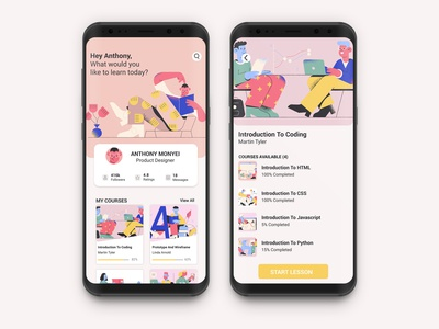 student study profile app