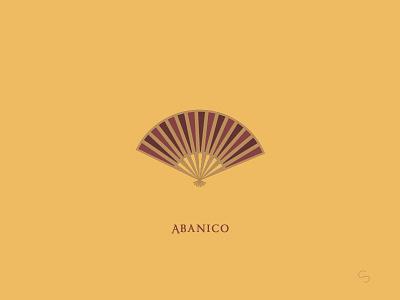 I'm a fan of Spain espana spanish abanico heat summer fan adventure minimal spain travel vector illustration