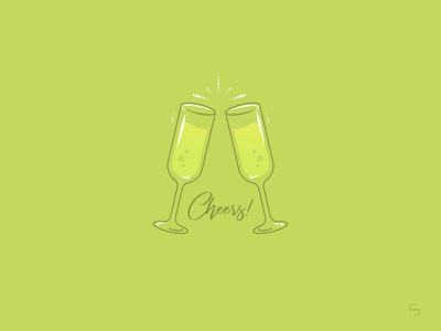 National Prosecco Day minimal brindis glass champagne national prosecco day bubbles clink alcohol prosecco drinks cheers