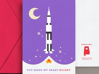 Huntsville VDay Cards - Rocket