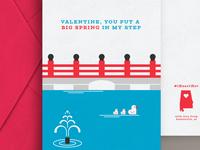 Huntsville VDay Cards - Big Spring Park