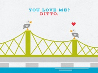 Huntsville VDay Cards - Ditto