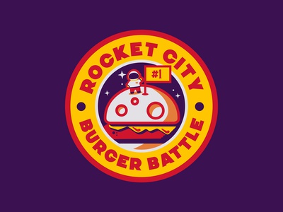Rocket City Burger Battle - Moon