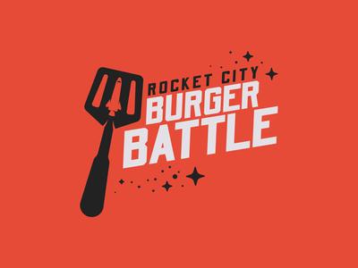 Rocket City Burger Battle - Official Logo
