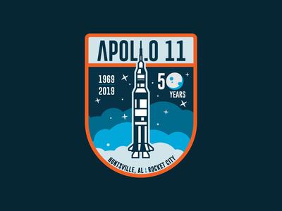 Apollo 11 Patch - Crest