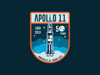 Apollo 11 Patch - Crest