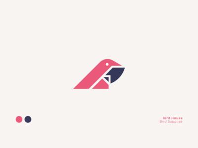 Bird House Logo Design