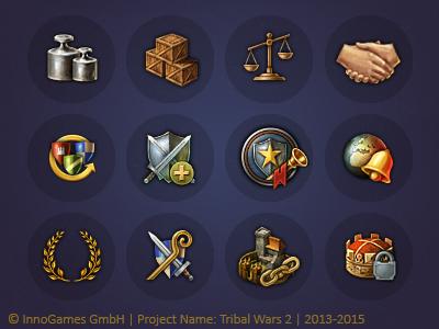 Tribal Wars 2 Icons