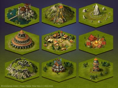 Tribal Wars 2 Map Tiles