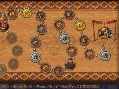 Tribal Wars 2 UI